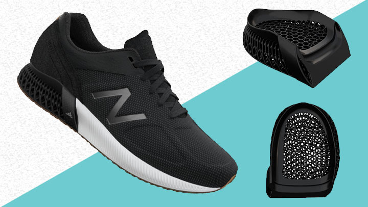 New Balance launches 3D printed shoes platform