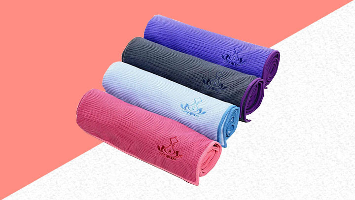 7 of the best yoga towels on the market in 2019