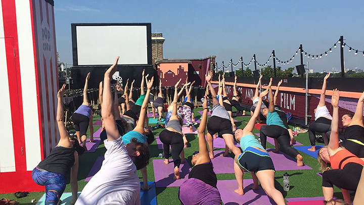 Take your training outdoors with the best al fresco fitness classes in London