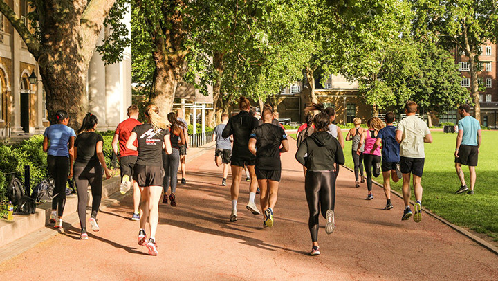 The best free running clubs in London