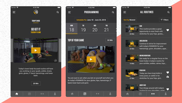 All the best workout apps for Apple and Android devices.