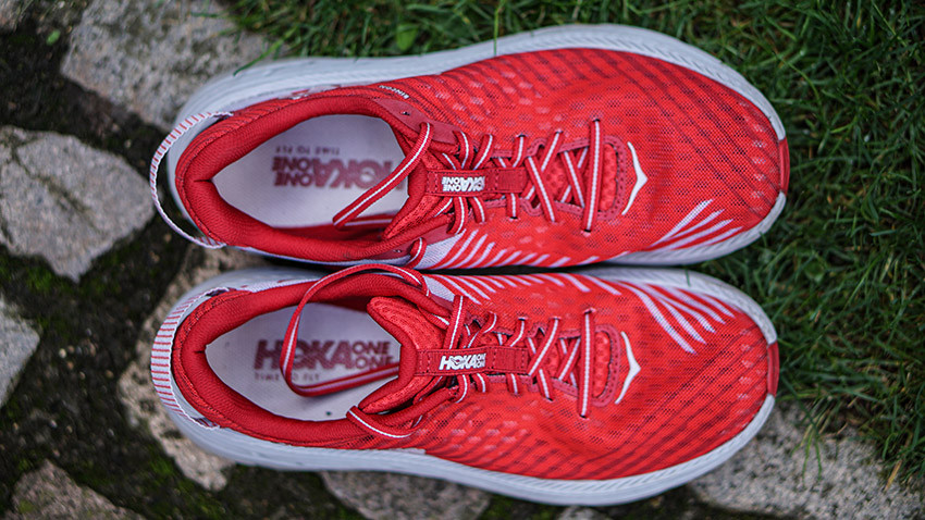 We try out Hoka One One's lightweight Rincon running shoe