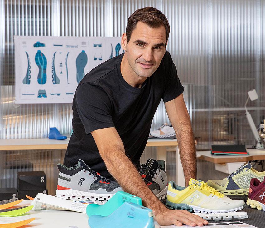 Roger Federer joins Swiss running brand On as an entrepreneur